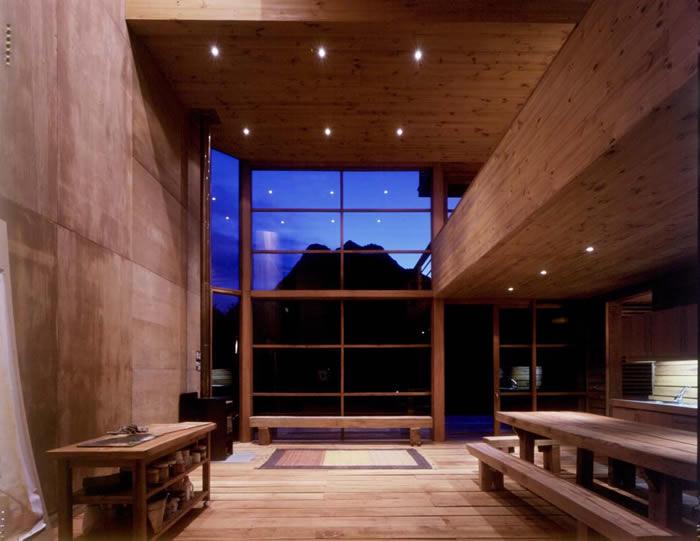 casa cubo madera